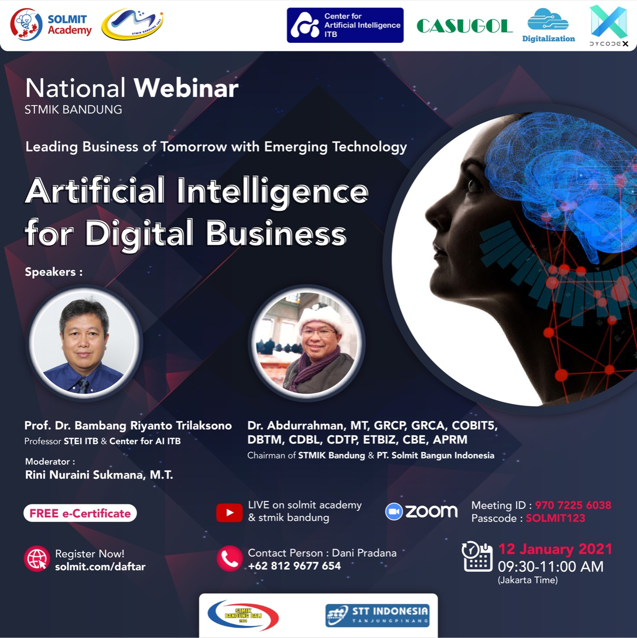Leading Business of Tomorrow with Emerging  Technology - AI for Digital Business