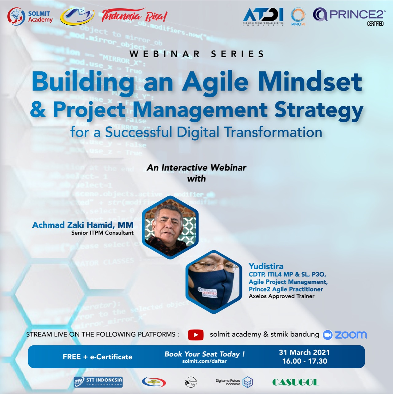 Free Webinar - Building Critical System Development, Agile Mindset, & Project Management Strategy for A Successful Digital Transformation