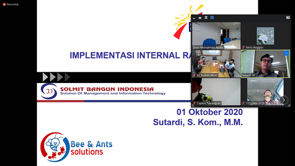 Sosialisasi Aplikasi Internal Rating System (IRS) Bank Jateng