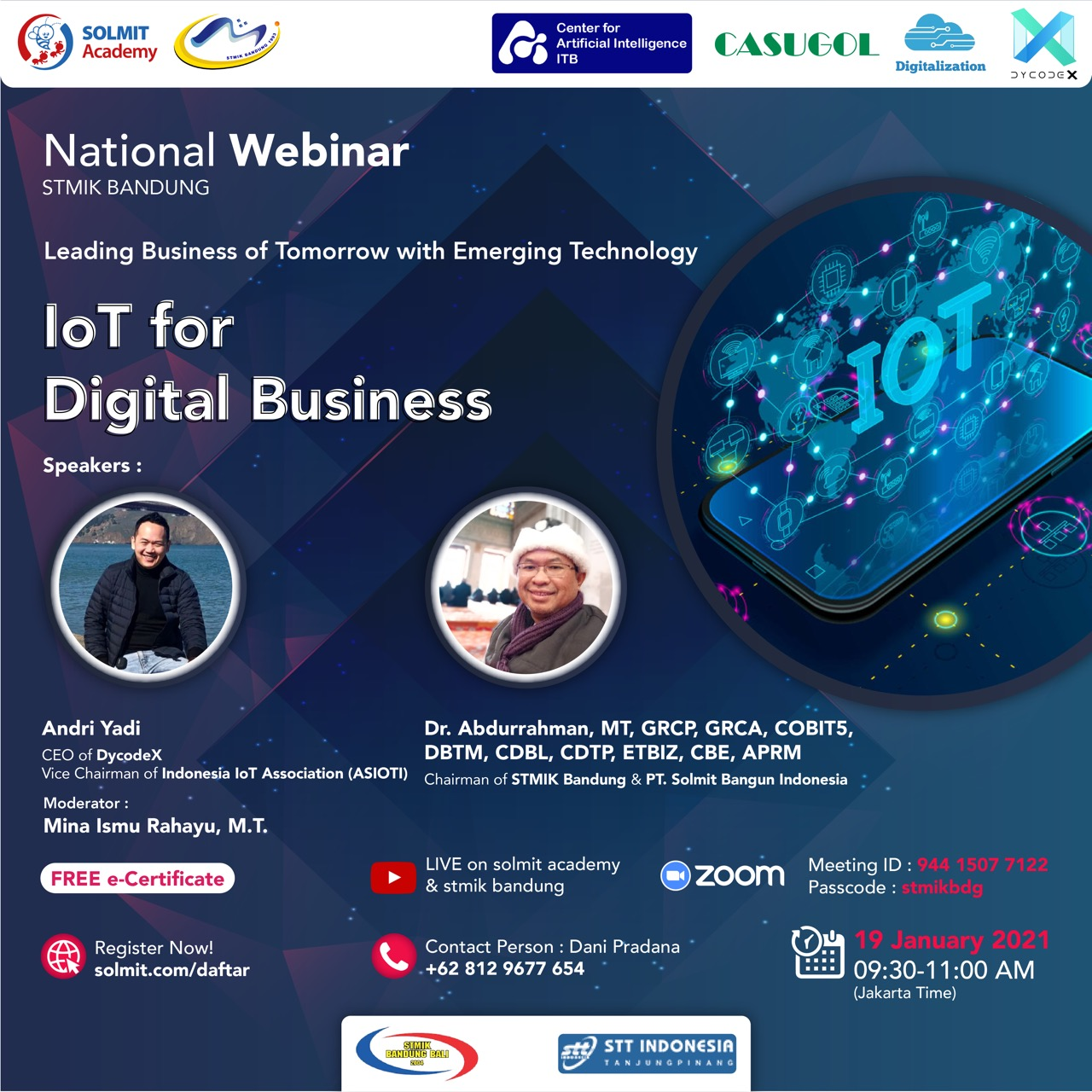 Leading Business of Tomorrow with Emerging Technology - IoT for Digital business